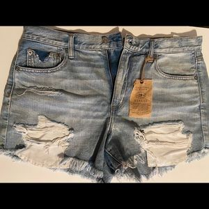 never worn jean shorts!
